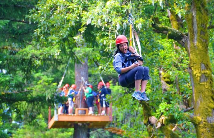 The Zipline In Washington That Will Take You On An Adventure