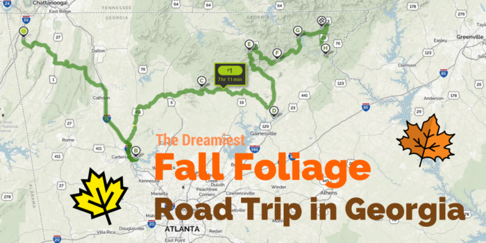 Mapquest Georgia.This Dreamy Road Trip Will Take You To The Best Fall Foliage In All