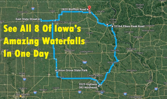 The Ultimate Iowa Waterfalls Road Trip Is Right Here And You