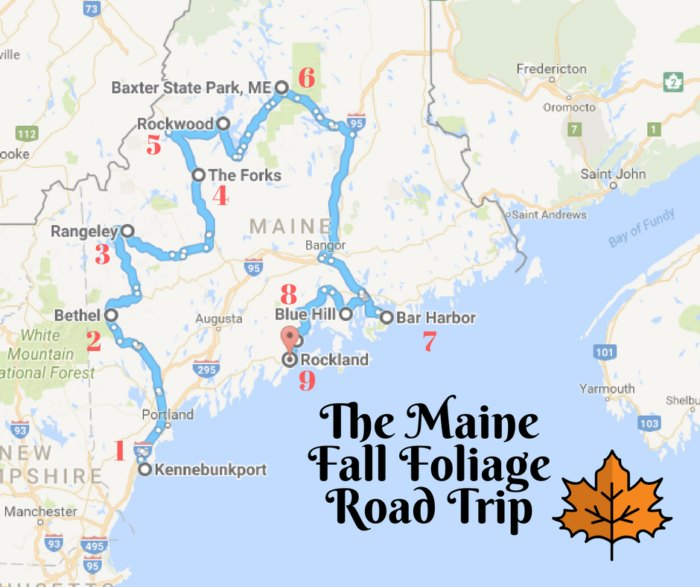 This Dreamy Road Trip Will Take You To The Best Fall Foliage ...