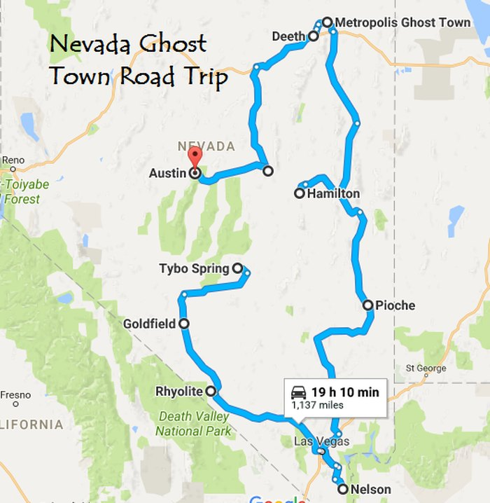 Map Of Arizona Ghost Towns.This Nevada Ghost Town Road Trip Belongs At The Top Of Your Bucket
