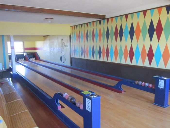 The Potter Duckpin Bowling Alley is the Only Duckpin Bowling