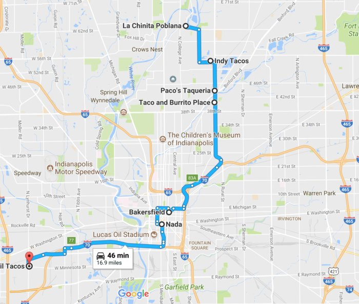 The Ultimate Taco Trail Through Indianapolis