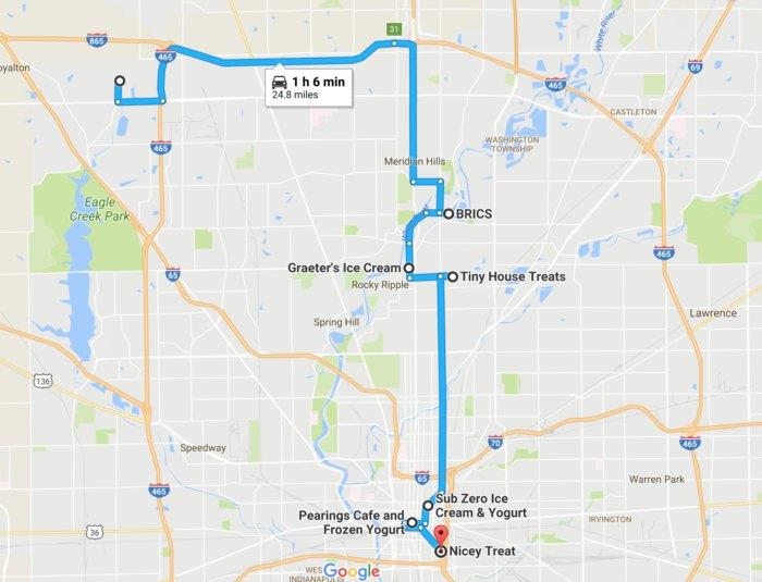 The Ultimate Ice Cream Trail Through Indianapolis