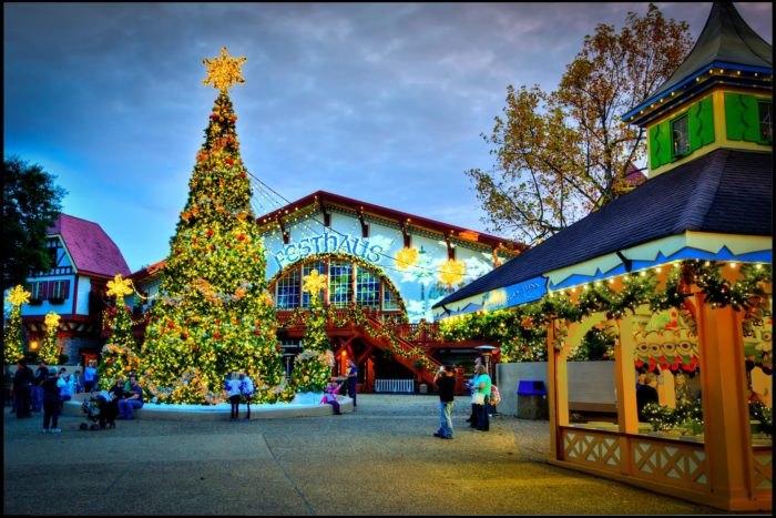 Busch Gardens Christmas.Christmas Town At Busch Gardens Is The Most Magical