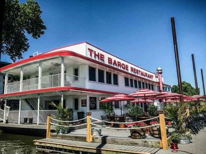 The Barge Is An Amazing Floating Restaurant In West Virginia