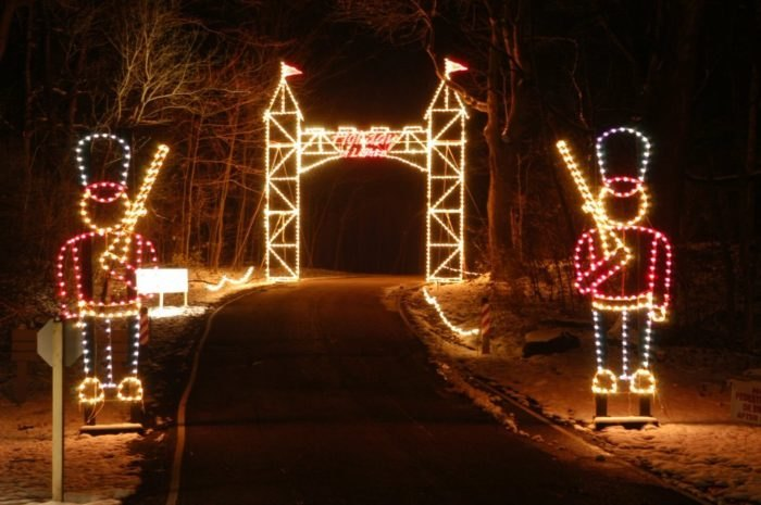 The Best Christmas Light Displays In The State Of Ohio For