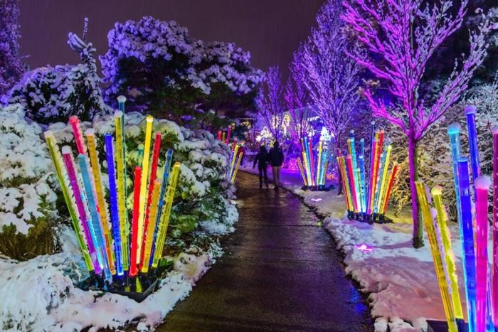 Phipps Conservatory Christmas 2019.Phipps Light Garden It S Not Christmas In Pittsburgh Until