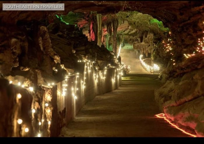 Christmas In Tennessee.Cherokee Caverns Is A Unique Christmas Destination In Tennessee