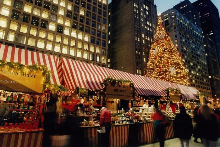 Chicago Christmas Market.Christkindlmarket Is Best German Holiday Market In Chicago