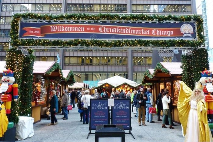 Chicago German Christmas Market.Christkindlmarket Is Best German Holiday Market In Chicago
