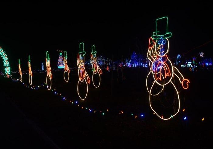 The Beautiful Christmas Lights Road Trip To Take Around Kansas City