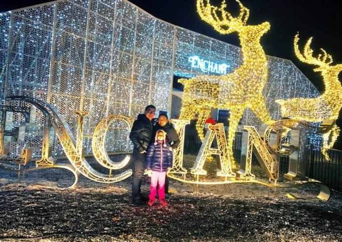 Enchant Christmas.Enchant In Arlington Texas Is The Largest Christmas Light