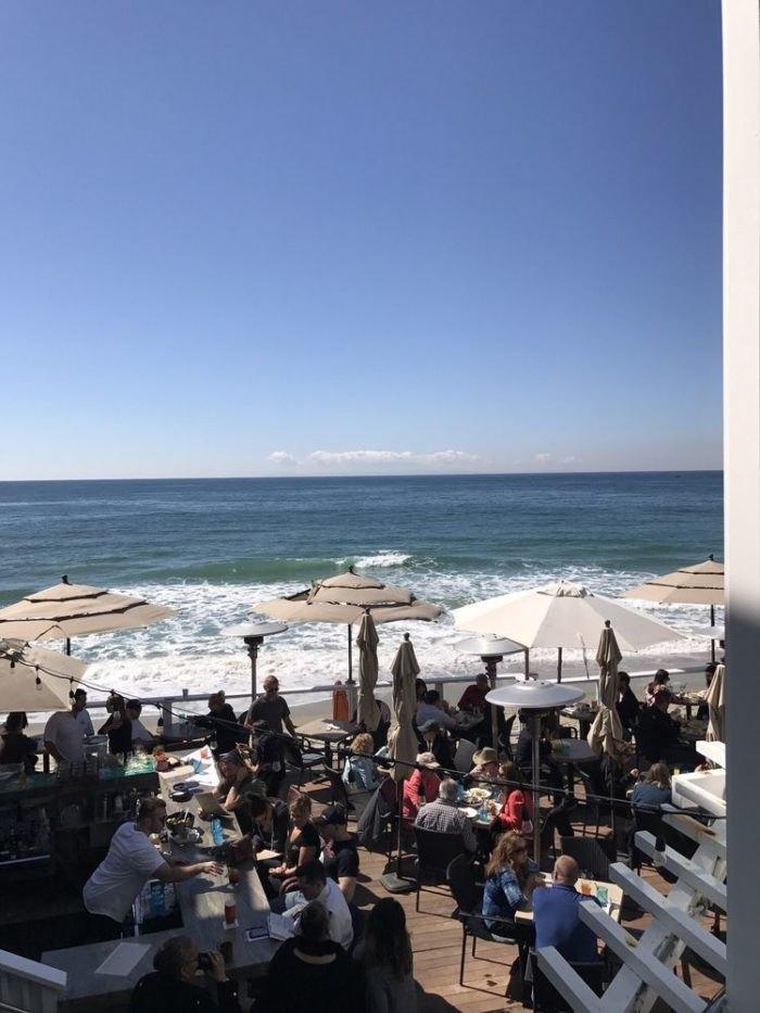 The Deck On Laguna Beach Is A Beachfront Restaurant With The
