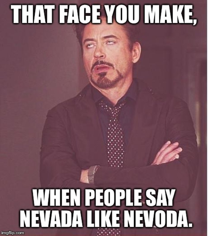 11 Funny Memes You'll Only Get If You're From Nevada
