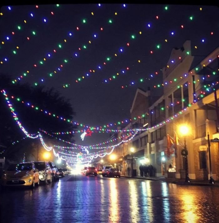 Natchitoches Christmas Festival.Visit This Village In Louisiana For The Most Old Fashioned