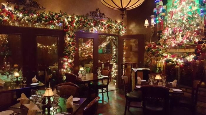 Christmas Restaurant.The Christmas Restaurant In Connecticut That Is Absolutely