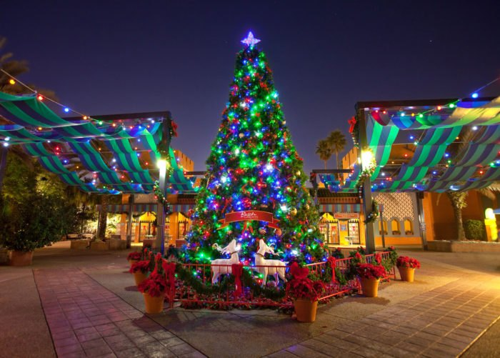 Christmas Town Florida.The Florida Amusement Park That Transforms Into A Winter