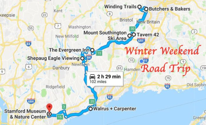 This Winter Road Trip In Connecticut Has The Perfect Weekend ... on make an map, make a letter, make an invitation, make an application, make an invoice,
