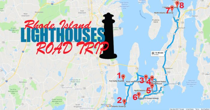 Here\'s The Coastal Lighthouse Road Trip In Rhode Island You ...