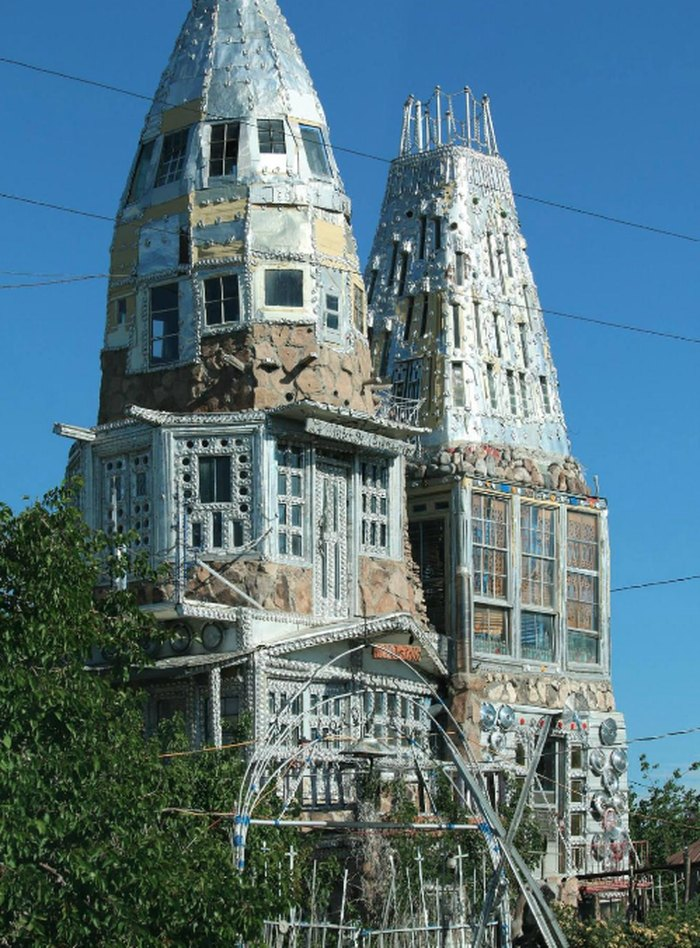 Awesome This House In Colorado Made Entirely Of Beer Cans Is Beyond Interior Design Ideas Philsoteloinfo