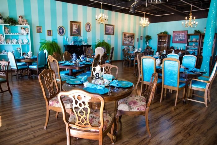 Victoria S Tea Is A Whimsical Tea Room In Oklahoma That S
