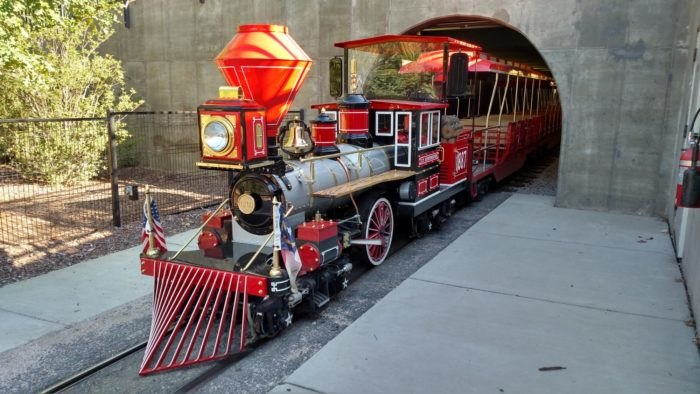 Pullen Park Christmas 2019.Pullen Park The Little Known Train Park In North Carolina