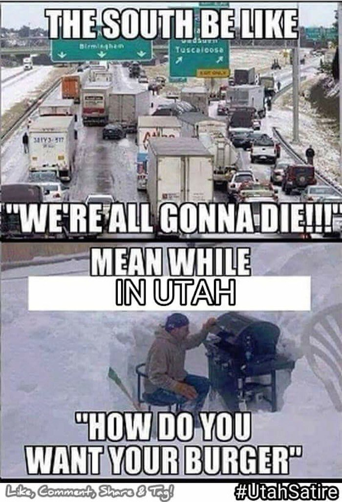 12 Memes That Perfectly Describe What Utah Is Really Like
