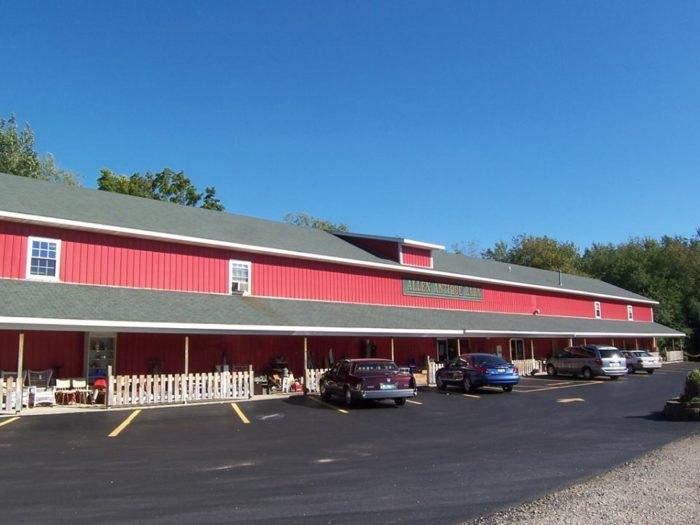 Allen Antique Barn Is Best Antique Barn In Michigan