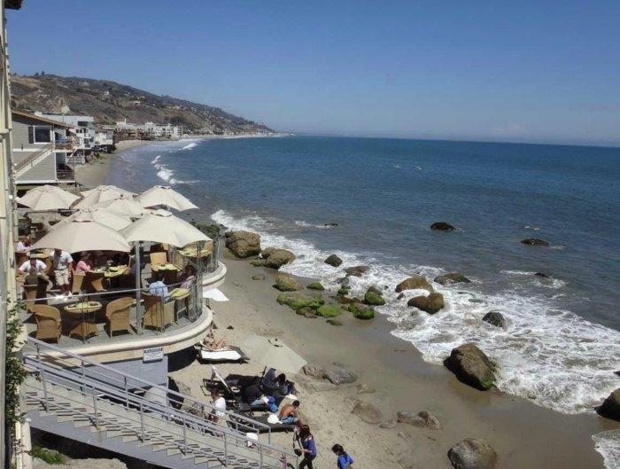 Secluded Carbon Beach Club Restaurant