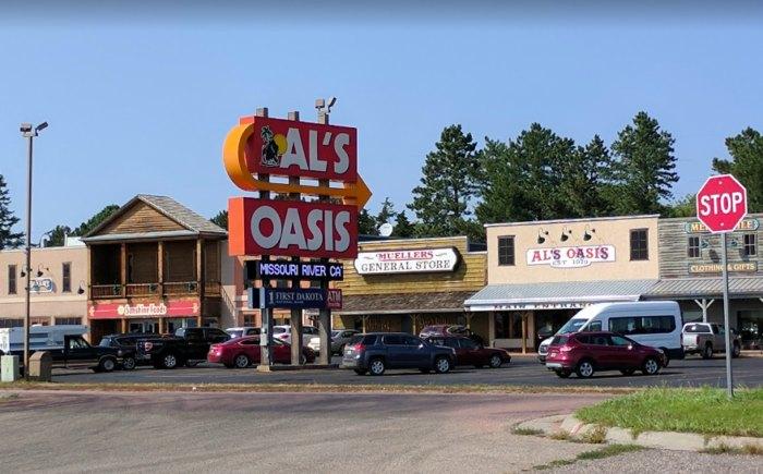 Al's Oasis Is A Charming Rest Stop Along I-90 In South Dakota