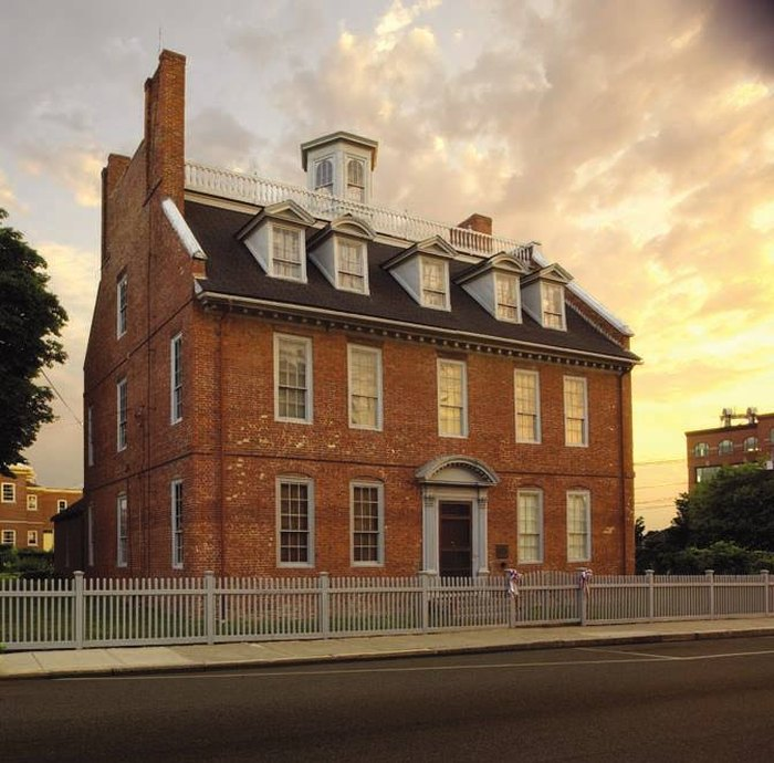 The Warner House in Portsmouth, New Hampshire Is Home to the