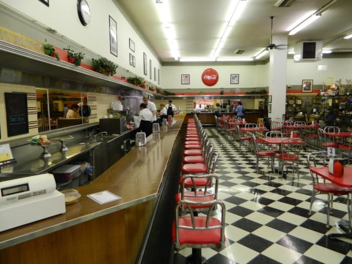 Woolworth Diner In Bakersville, California, Is The Last