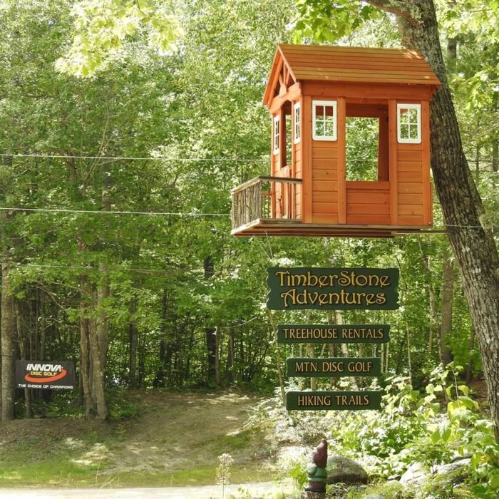 This Treehouse Resort In Maine May Just Be Your New Favorite