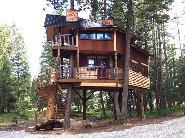 The Montana Treehouse Retreat May Just Be Your New Favorite