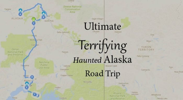 The Ultimate Terrifying Alaska Road Trip Is Right Here And You\'ll ...