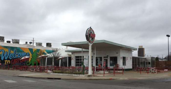 The Pump Bar In Oklahoma City Used To Be An Old Gas Station