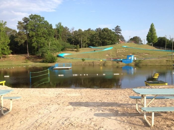 Pep's Point: The Best Natural Water Park In Mississippi