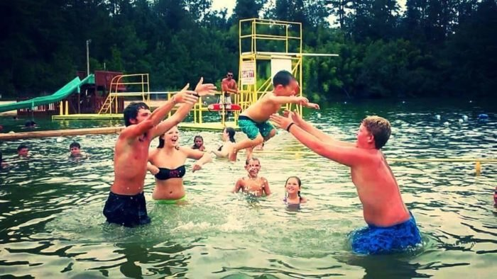 Richardson's Lake: The Natural Swimming Hole In South