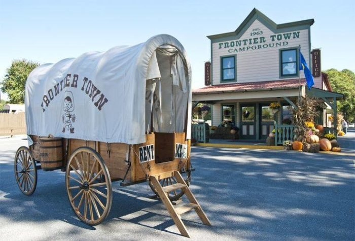 Frontier Town Is An Amazing Waterpark Campground In Maryland
