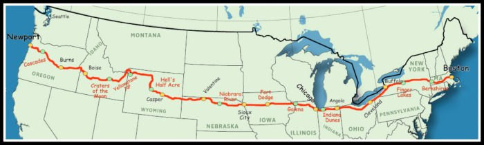 U.S. Route 20 Is America\'s Longest Highway And Perfect For A Road Trip