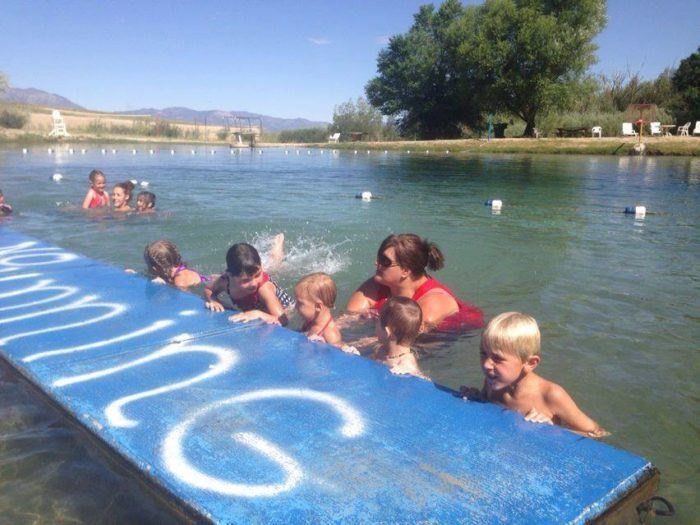 McGill Pool: The Natural Swimming Hole In Nevada That