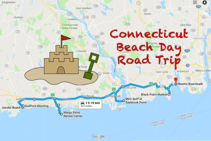 Take This Beach Day Road Trip In Connecticut For The Best ...