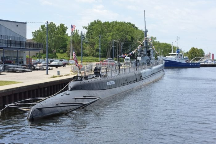 You Can Spend The Night On The USS Silversides In Michigan