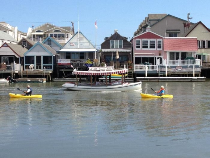 A Trip To This Floating Tiki Bar In New Jersey Is The