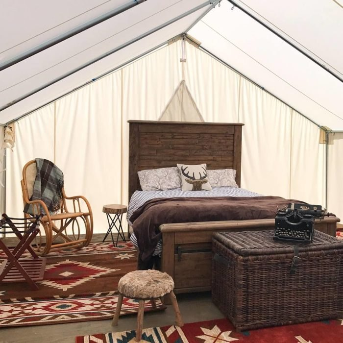Asheville Glamping: There's No Other Campsite In North