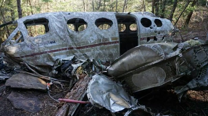 Hike To An Abandoned Plane Crash Site On This Trail In North Carolina