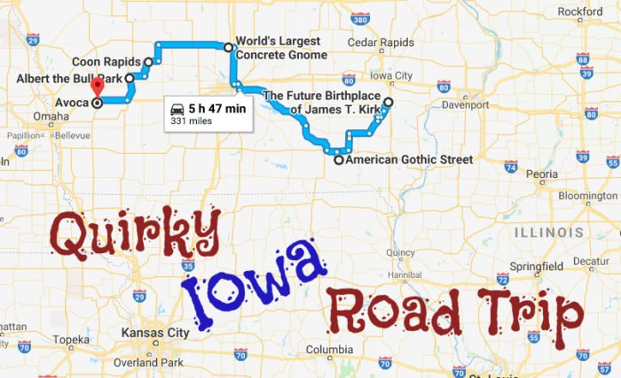 This Quirky Iowa Road Trip Shows Off Amazing Roadside