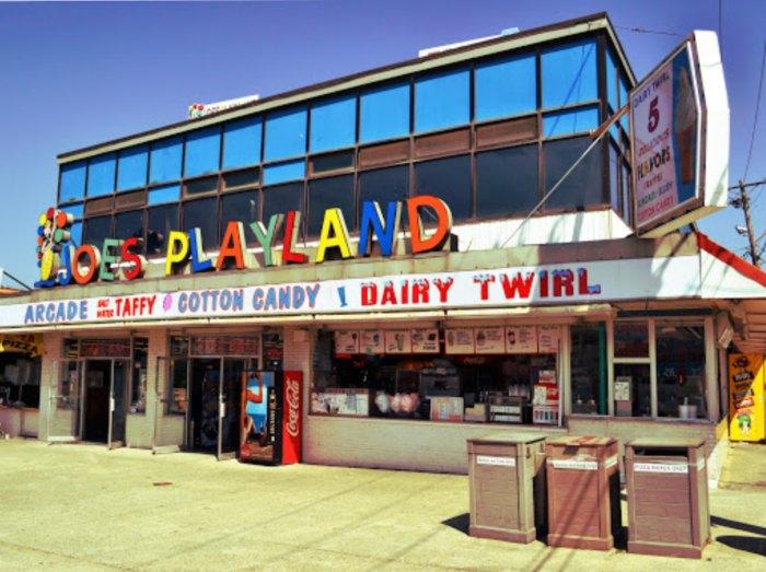 Joe's Playland Is A Beachfront Arcade In Massachusetts