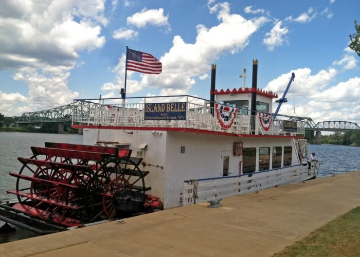 The Island Belle Ferry To Blennerhasset Island State Park Is
